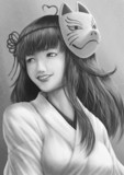 KNN姉貴 肖像画
