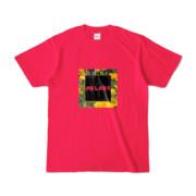 Tシャツ   ホットピンク   MELHOR☆Flower_Square