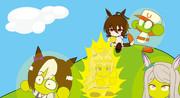 タキオンのメロンパンパニック