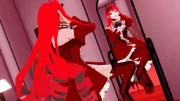 ヒールを誇示する姿見トリ子【Fate/MMD】