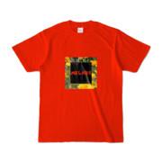 Tシャツ   レッド   MELHOR☆Flower_Square