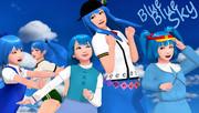 青い、青い空【そばかす式】