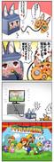 ゲーム○ューブのコントローラーと本体になった狐っ娘がレズセッ○スしてゲームが起動する漫画