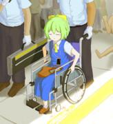 事故で足を失っても社会復帰を諦めないDIYUSI