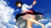 【第8回T-1グランプリ】飛行時は下から見ちゃダメ!【第13回東方ニコ童祭】