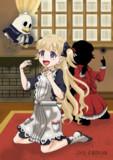 笑顔エミリコと動くパンちゃん