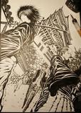 【サムライ×刀×城】 - オリジナルイラスト【線画】 完成イラスト過去作2020
