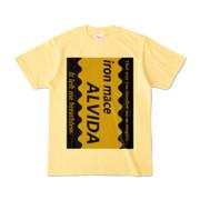 Tシャツ   ライトイエロー   Alvida_COFFEE☆Sweet