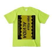 Tシャツ | ライトグリーン | Alvida_COFFEE☆Sweet