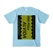 Tシャツ | ライトブルー | Alvida_COFFEE☆Sweet