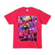 Tシャツ | ホットピンク | OverGrip巻いてますか?