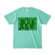 Tシャツ | アイスグリーン | Super☆MixTennis