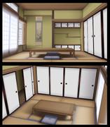 [MMD]和室
