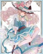アイスクリーム姫(水彩版)