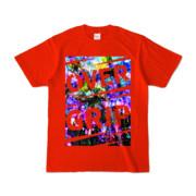 Tシャツ | レッド | OverGrip巻いてますか?