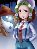 個人的第一印象は「昭和の少年探偵キャラ」でした