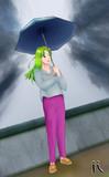 i 「傘」(2021年7月6日) i