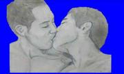 幸せなキス中に石化してしまった先輩BB
