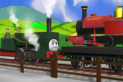100さいになった機関車の昔話