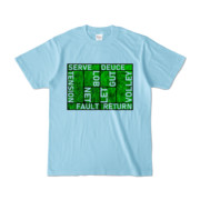 Tシャツ | ライトブルー | Super☆MixTennis