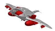 シンカー尾翼試験機