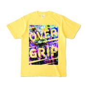 Tシャツ | イエロー | OverGrip巻いてますか?