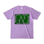 Tシャツ | ライトパープル | Super☆MixTennis