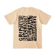 Tシャツ | ナチュラル | Super☆Tennis_word