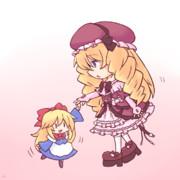 人形と人形