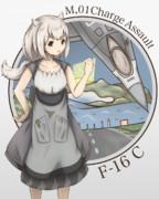 F-16擬人絵