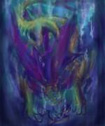 底へ惹き込む人魚竜 イソネミクニ