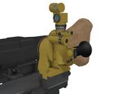 【MMDモデル配布】 MGZ40光学照準器