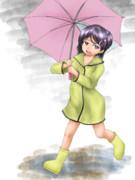 艦これ Scirocco(シロッコ)「あたし雨女だからね~」