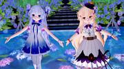 【MMD花騎士】クコちゃん&ステラちゃんで『オフトゥン』