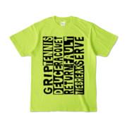 Tシャツ | ライトグリーン | Super☆Tennis_word