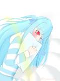 明日が楽しみで寝られない葵ちゃん