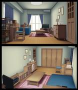 [MMD]部屋1