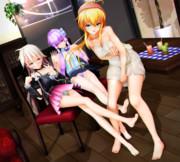 【ゆかりさん萌えリンク】マキお姉さんと おみあしイチャラブ…♡