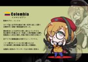 コロンビアちゃん(コロンビア共和国)SD