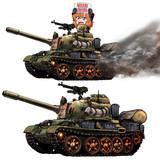 WoTゆっくり実況動画にて使用したSD戦車