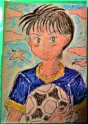 サッカー少年!