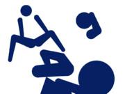 迫真空手オリンピック種目化記念ピクトグラム