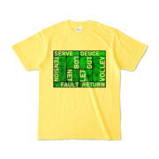 Tシャツ | イエロー | Super☆MixTennis
