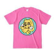 Tシャツ   ピンク   DIRTY♀ワンちゃん