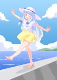 夏の葵ちゃん