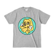 Tシャツ | 杢グレー | DIRTY♀ワンちゃん