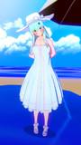 サマードレスの鈴谷