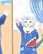 サメちゃん(4歳の時)