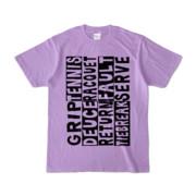 Tシャツ   ライトパープル   Super☆Tennis_word