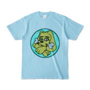 Tシャツ   ライトブルー   DIRTY♀ワンちゃん